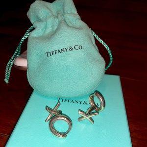 Tiffany Love & Kisses Cuff Links